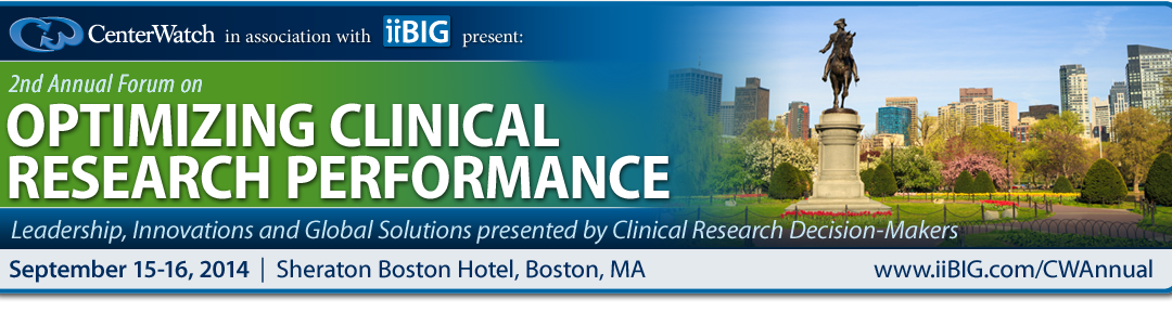 IIBIG 2nd Annual Forum on Optimizing Clinical Research Performance